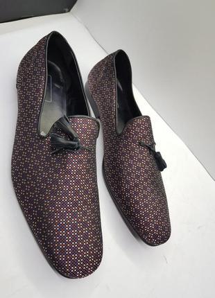Мужские дизайнерские туфли лоферы asos4 фото