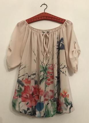 Пудровкя блузка
