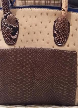 Классическая сумка в леопардовый принт