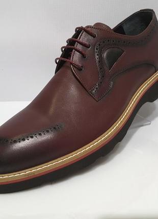 Туфли мужские james franco, кожаные