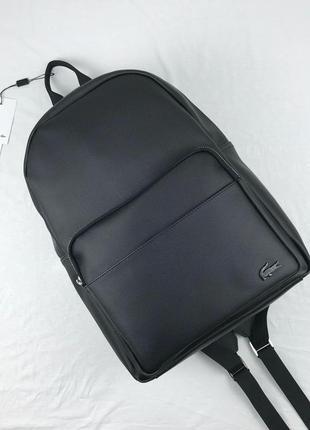 Рюкзак lacoste чёрный наложенный платёж аксессуар купить