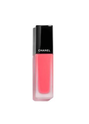 Большая распродажа! жидкая матовая помада для губ chanel rouge allure ink 218 - plaisir