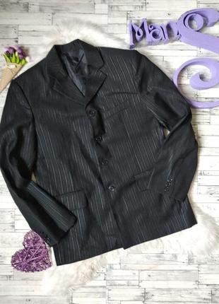 Школьный пиджак laize на мальчика черный