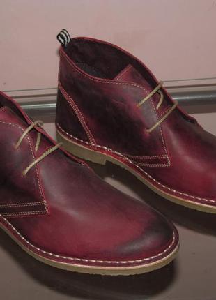 Ботинки  horsefly   португалия   натуральная кожа