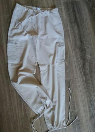 Джоггеры летние спортивные штаны брюки лёгкие