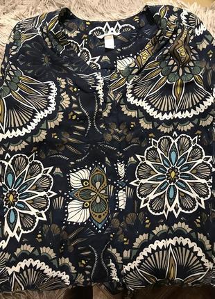 Рубашка фирмы hm -36 размер длинный рукав.блузка.