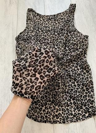 Последняя цена! 1➕1=3🎉майка леопард