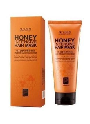 Маска восстанавливающая с пчелиным мёдом для поврежденных волос