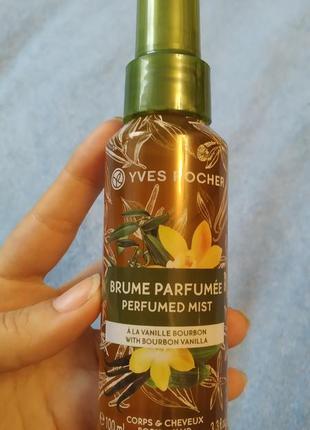 Yves rosher парфумований спрей для тіла та волосся 100 мл