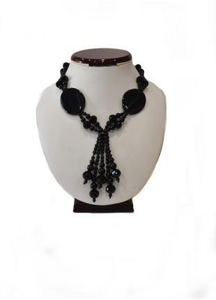 Ожерелье оникс