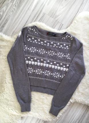 Укороченый свитер marwin&friend