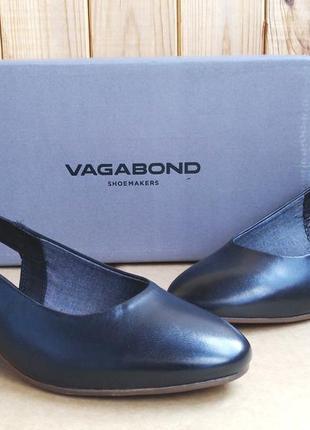 Стильные кожаные туфли лодочки vagabond