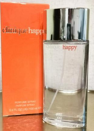 🔺оригинал🔺clinique happy for women, парфюм, духи - свежий, цитрус