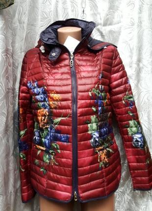 Куртка-пиджак бордовая plist акции распродажа