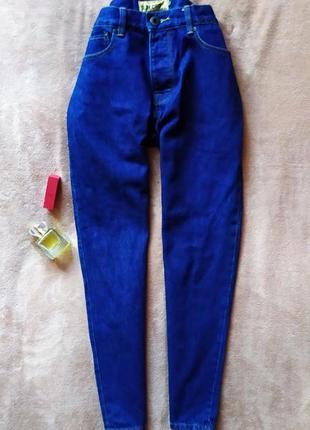 Качественные укороченные джинсы бойфренды,высокая талия
