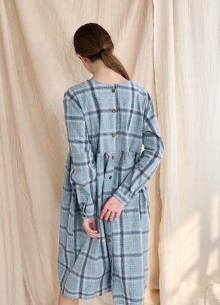 Красивое платье фланель оверсайз. идеально беременным