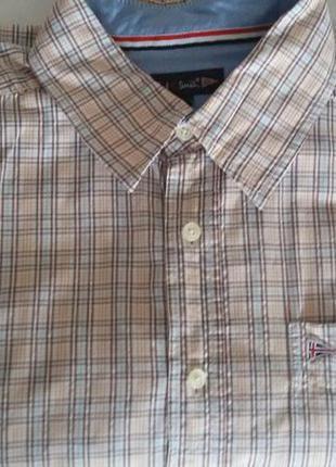 Летняя качественная рубашка paul r. smith