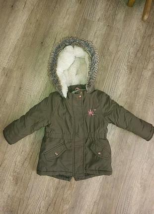 Курточка зимняя 12-18 мес