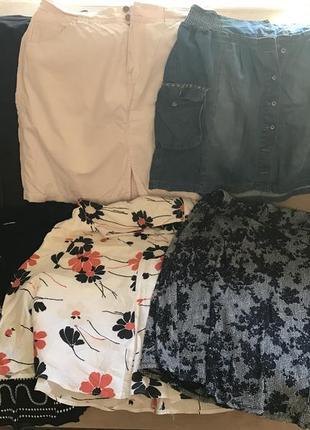 Пакет юбок на 50-52 размер