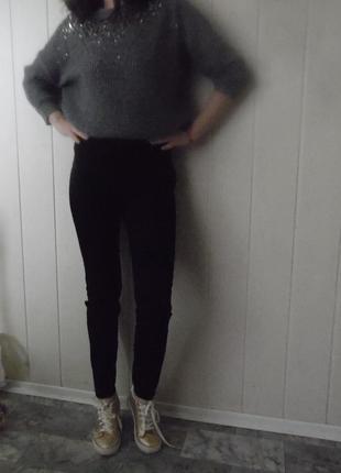 Высокие брюки, брюки с высокой посадкой h&m