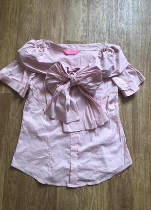 Fontana rosa. италия. блуза р. m-l можно в школу и в офис