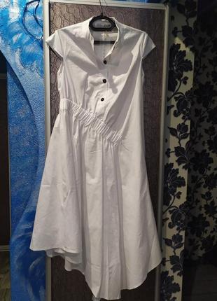 Новое льняное платье!!!
