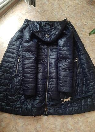 Пальто из плащевки symonder