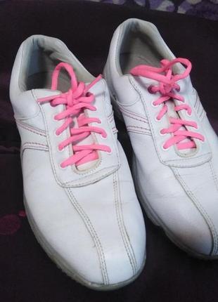 Белые женски кроссовки footjoy  china