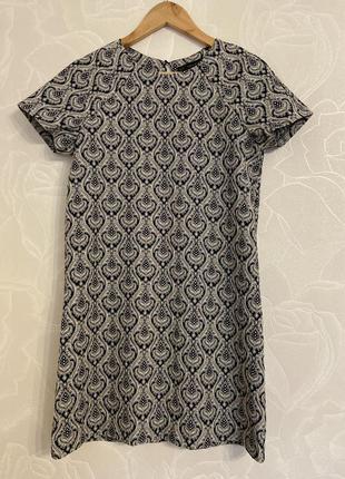 Платье трапеция zara