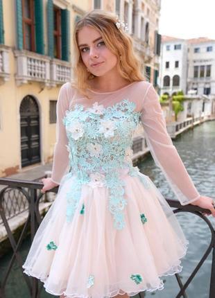 Платье эксклюзивное свадебное дизайнерское