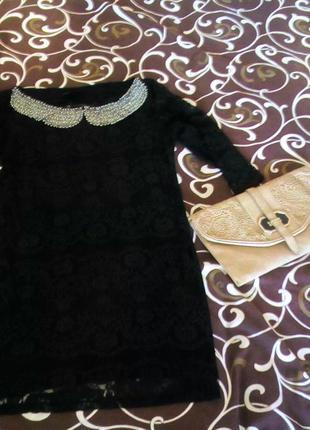 Гипюровое платье размер хс-с 34-36