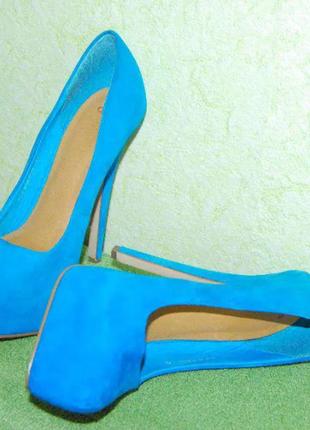 Новые туфли asos. кожа. 36,5 - 37