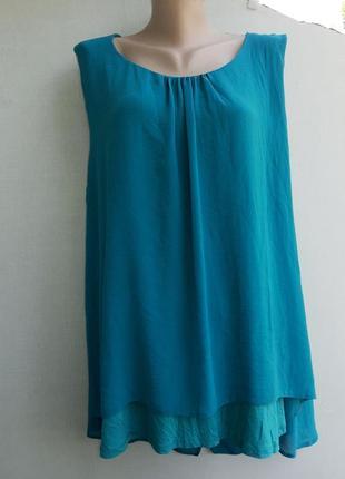 Лёгкая нежная двухслойная блуза