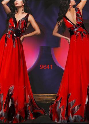 Стильное длинное платье -сарафан от ever-pretty