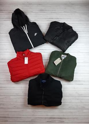 Большой выбор мужских курток жилеток ветровок бомберов и другой одежды на любой вкус