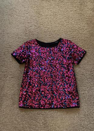Блуза в паетку