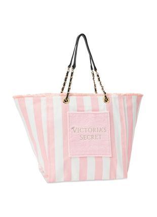 Фирменная яркая сумка victoria´s secret,сумка-шоппер,пляжная сумочка оригинал сша