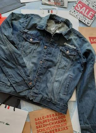 🐬 крутой джинсовый пиджак