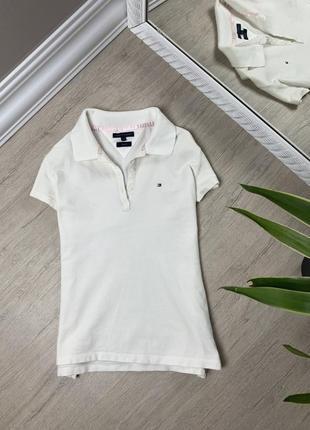 Tommy hilfiger женская футболка кофта майка поло томми хайфилгер оригинал