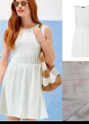 Распродажа белое платье сарафан по супер цене esmara