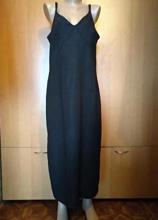 Роскошный сарафан, летнее платье макси пог-51 см