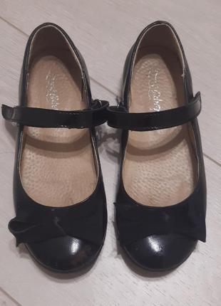 Кожаные туфли для девочки lapsi
