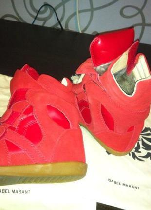 Isabel-marant sneakers - зима