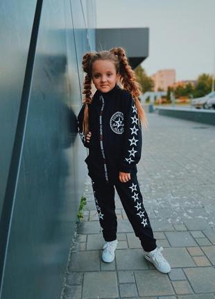 Спортивный костюм на девочек