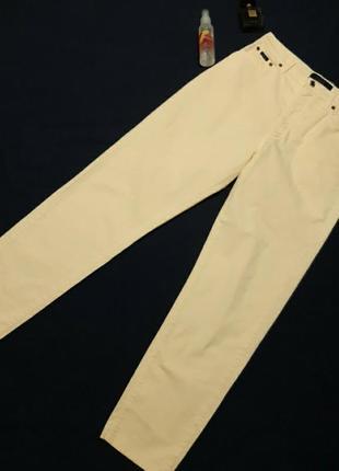 Винтажные, стильные джинсы-мом, высокая посадка, тянутся