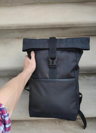 Чоловічий рюкзак роллтоп ролтоп якісна фурнітура дихаюча спинка