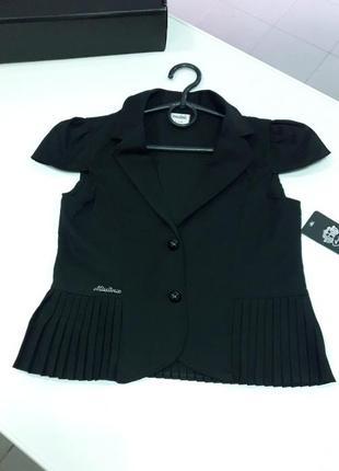 Школьная форма пиджак жилетка для девочки