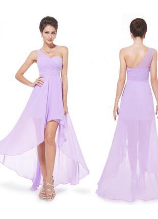 Сиреневое платье с хвостом от ever-pretty