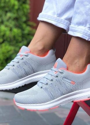 Adidas neo (светло серые)