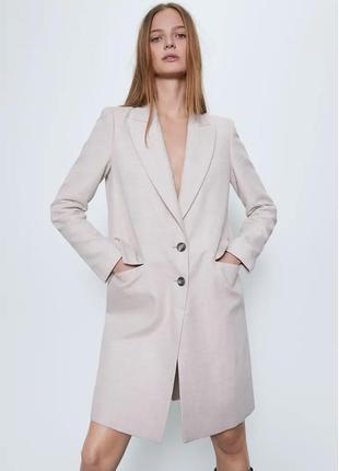 Женское пальто zara, размеры s, m